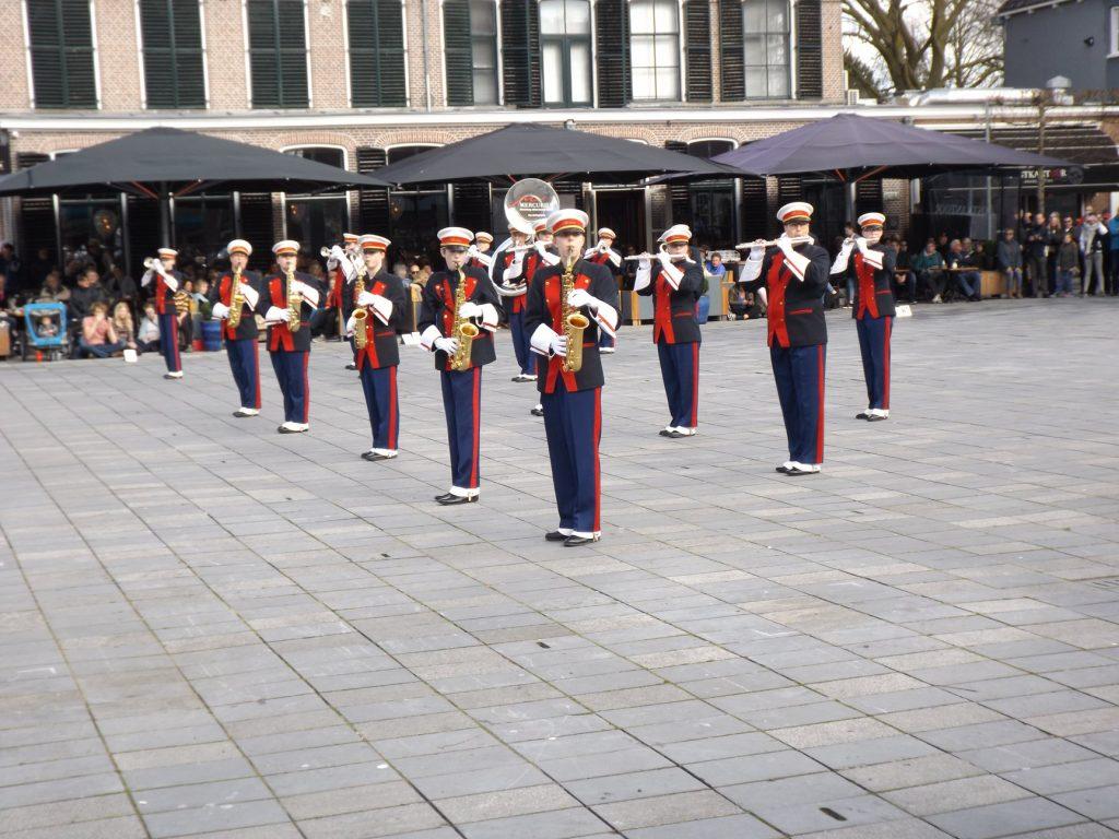 Heerenveen, de eerste taptoe van het jaar